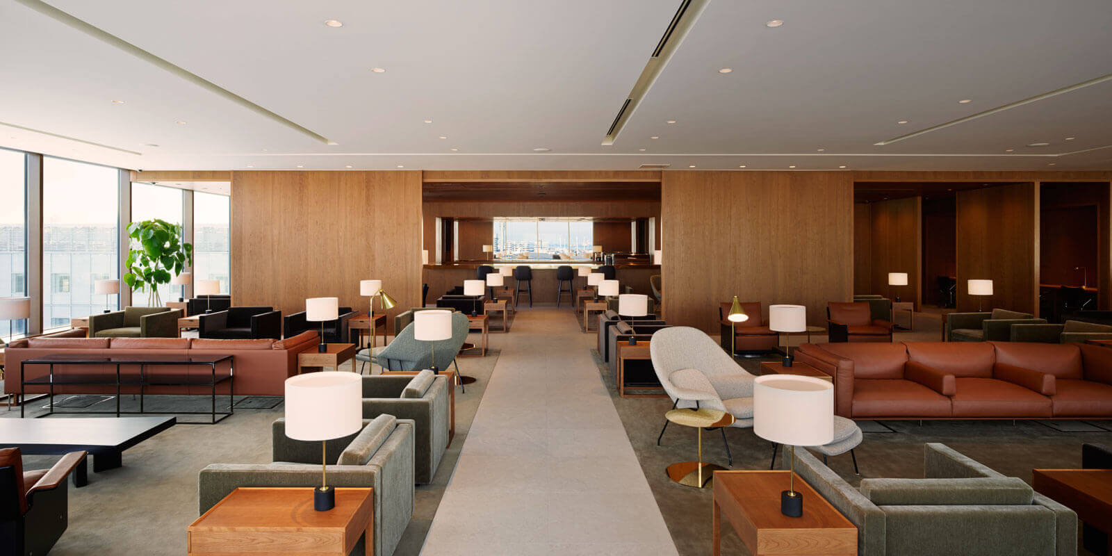 Cathay Pacific Haneda Lounge